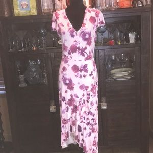 Juicy Couture Floral Pink Dress